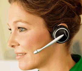 telefono senza fili con auricolare